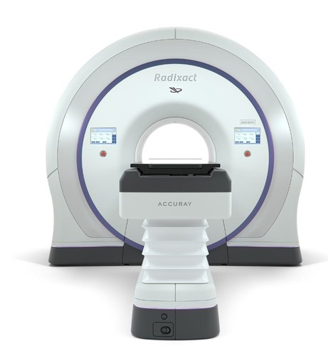 The Radixact Treatment Delivery System (PRNewsFoto/Accuray Incorporated)