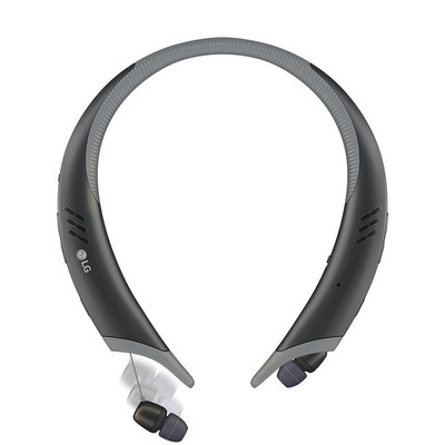 Not only does the LG TONE Active+ headset come with built-in external stereo speakers that amps up the bass in your playlist, this sleek Bluetooth(R) headset is designed to stay put during your workout to ensure you don't miss a beat, whether lifting weights in a sweat induced session or running the last mile of a 5K in the rain.