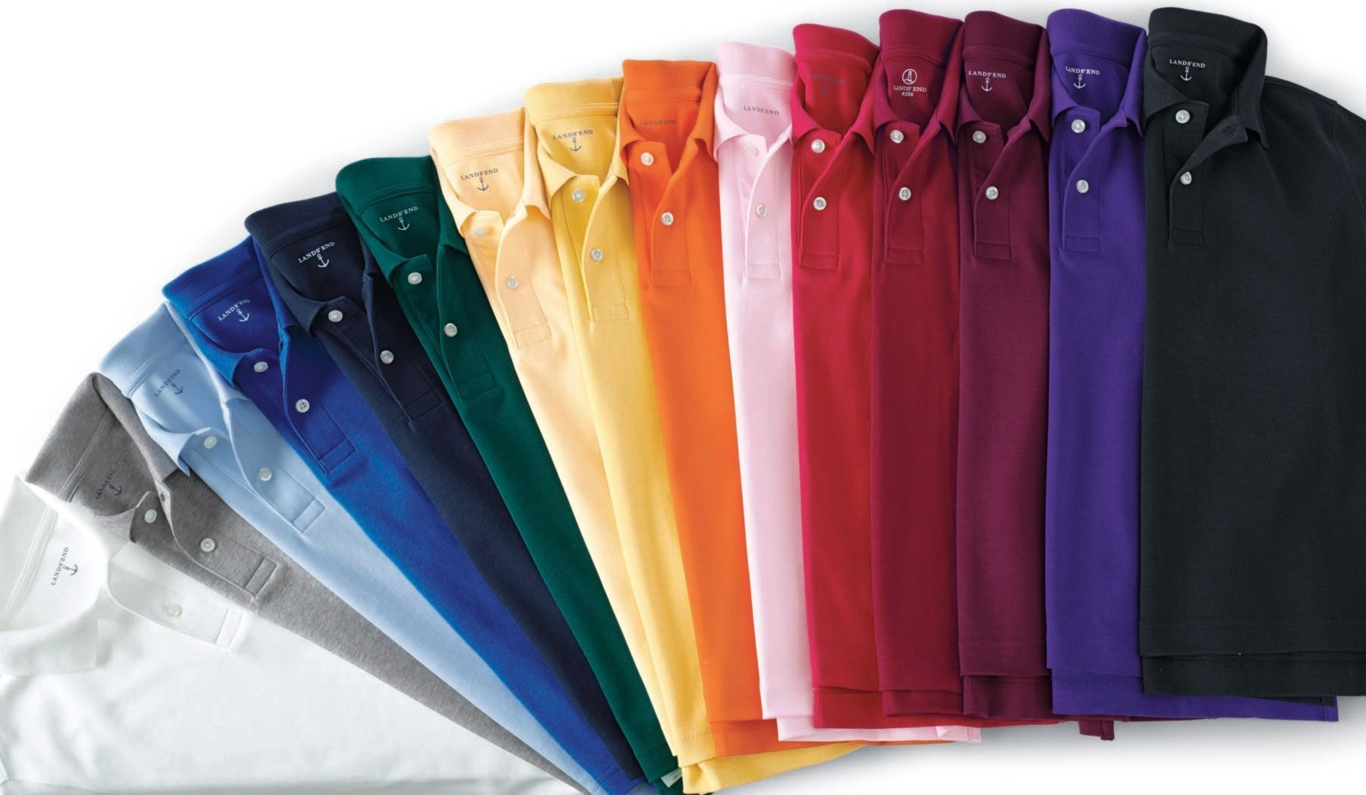 Lands 39 end reinvents the polo shirt dodgeville wis for High end golf shirts