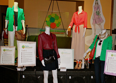 Fashionistas Celebrate Sustainable Style With Recycled Plastic Looks at New York Fashion Week