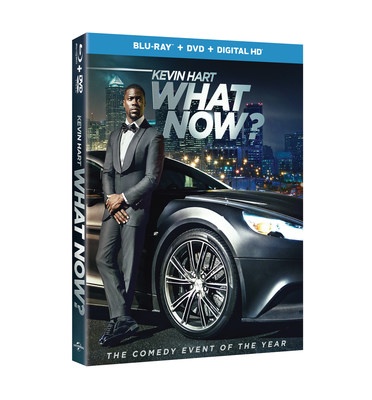 From Universal Pictures Home Entertainment: Kevin Hart: What Now?