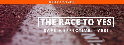 www.TheRacetoYes.Org. (PRNewsFoto/The Race to Yes) (PRNewsFoto/THE RACE TO YES)