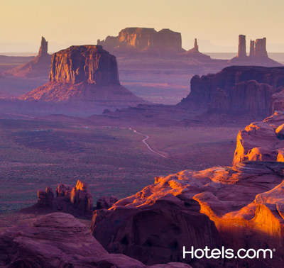 The Grand Canyon is now considered a top domestic destination for American travelers according to the Hotels.com Hotel Price Index.