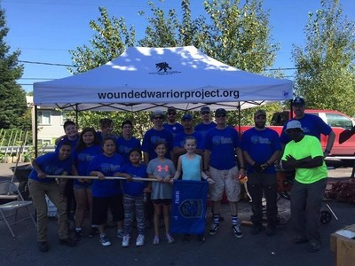 Wounded warriors and family members in Seattle were part of a nationwide community service initiative.