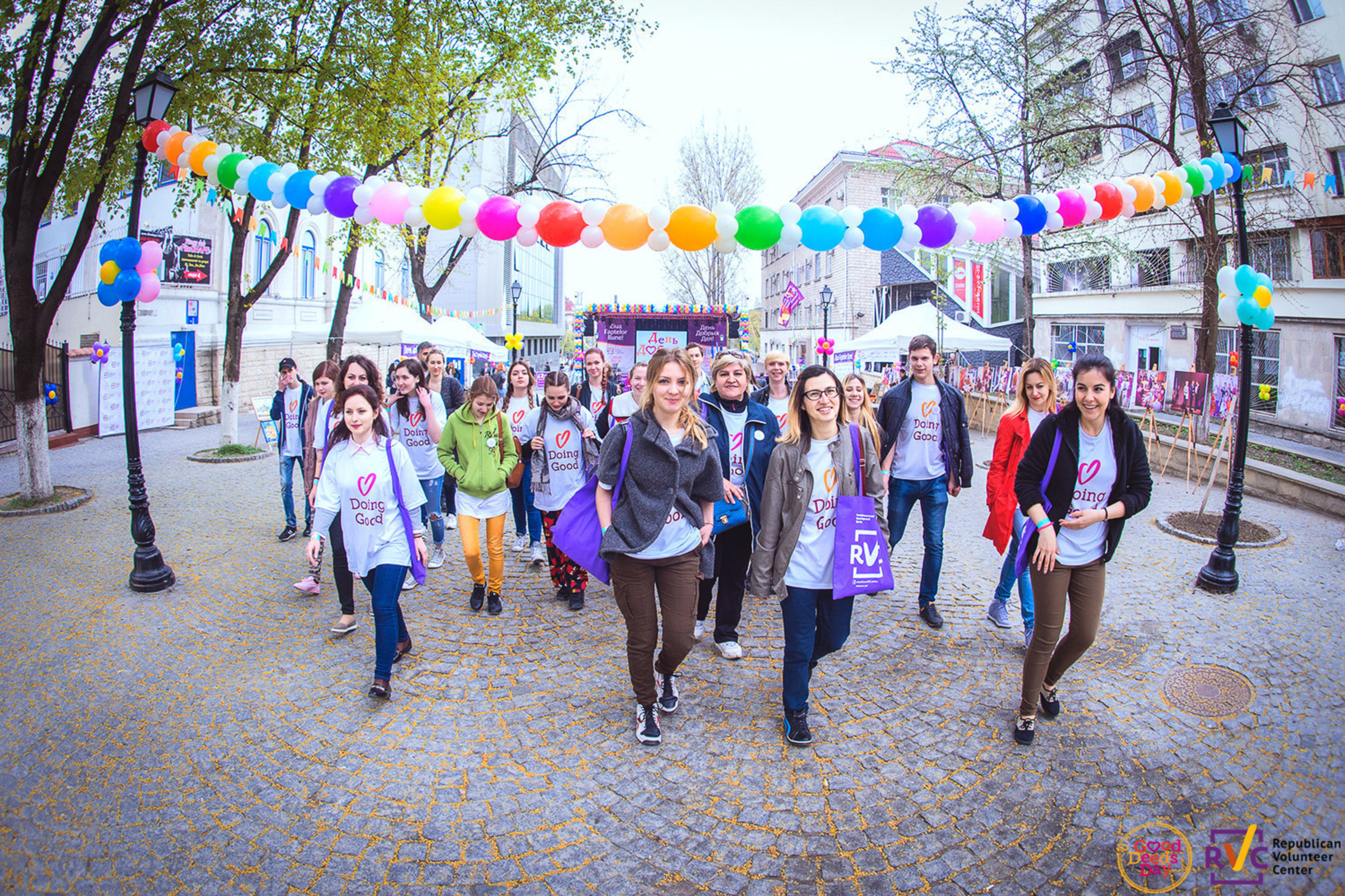 Good Deeds Day Activity at the Republican Volunteer Center in Moldova