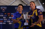 "Sachin Tendulkar and Shane Warne at the ""Cricket All-Stars"" Live Draw"