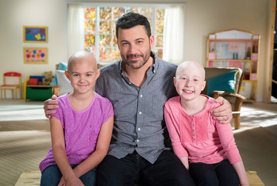 This holiday season late night host Jimmy Kimmel makes his St. Jude Thanks and Giving(R) campaign debut alongside returning celebrity friends Jennifer Aniston, Sofia Vergara, Michael Strahan, Luis Fonsi and St. Jude Children's Research Hospital National Outreach Director Marlo Thomas.