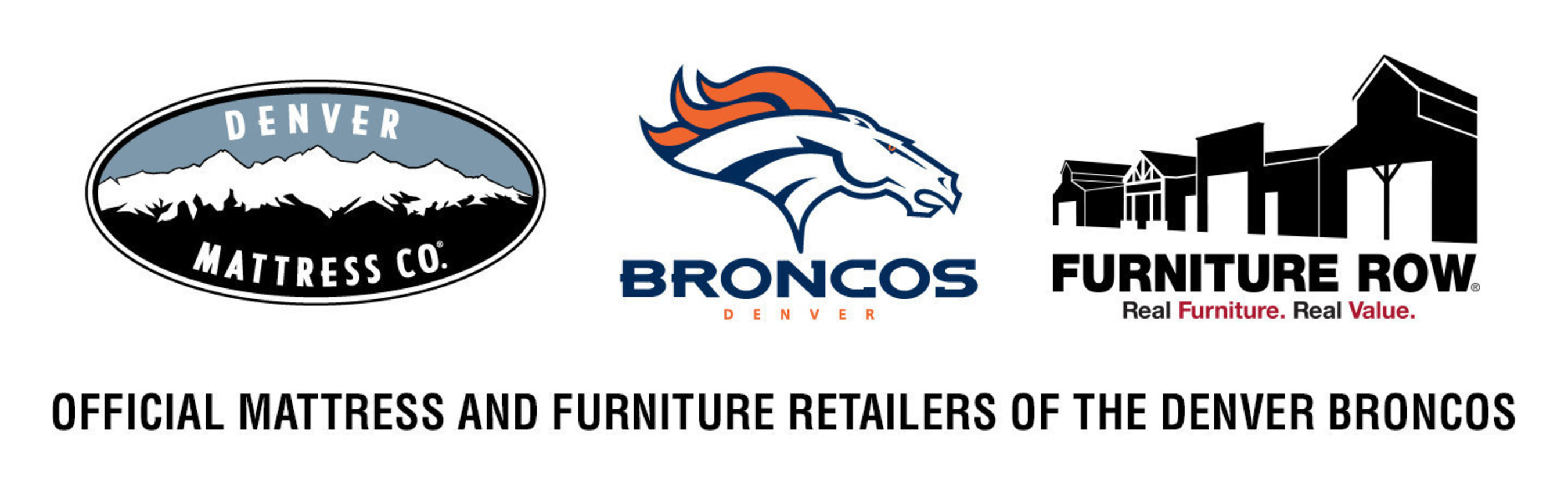 Denver Mattress And Furniture Row Will Once Again Sponsor The Denver Broncos  For The 2016 Season