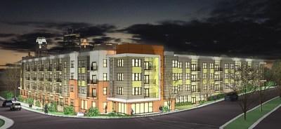 115-Unit, Class A Multifamily Development in Winston-Salem, North Carolina.
