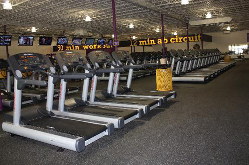 Planet Fitness Southgate Club Interior.  (PRNewsFoto/Planet Fitness)