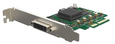 Magewell's new Pro Capture DVI 4K video capture card supports single-link and dual-link DVI inputs with CPU-saving, high-quality, hardware-based 4K video processing.