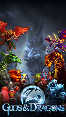 """Top-5 Grossing iOS Game in China, """"Gods & Dragons,"""" Comes to North America.  (PRNewsFoto/NQ Mobile Inc.)"""