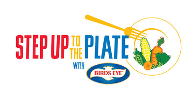 Step Up To The Plate Official Program Logo.  (PRNewsFoto/Birds Eye)