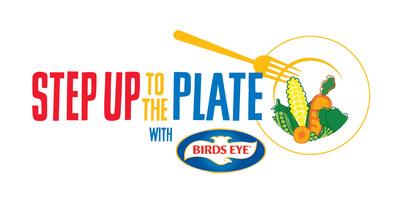 Step Up To The Plate Official Program Logo.  (PRNewsFoto/Birds Eye)