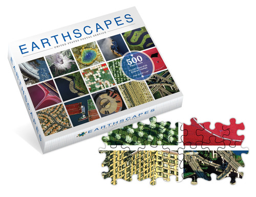 It's never too early to shop for the holidays and the Postal Service has a great gift the entire family can enjoy. Piece together a stunning picture of the land we call home with a 500-piece puzzle showcasing the Earthscapes Forever stamps. The stamps were issued Oct. 1 to kick-off October as National Stamp Collecting Month. The puzzle features 15 breathtaking images of America's landscapes as seen from high above the planet's surface. Sure to provide hours of entertainment for all ages, the 18 x 24-inch puzzle also makes a ...