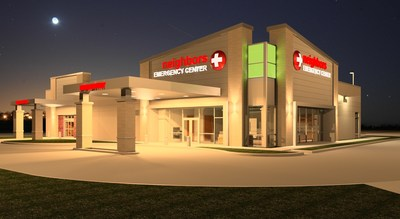 Rendering of the Neighbors Emergency Center El Paso location at Joe Battle and Edgemere.
