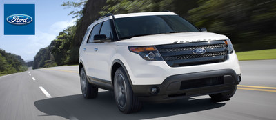 The 2015 Ford explorer is just one of many new Ford models at Dahl Ford that will impress Davenport-area drivers. (PRNewsFoto/Dahl Ford)
