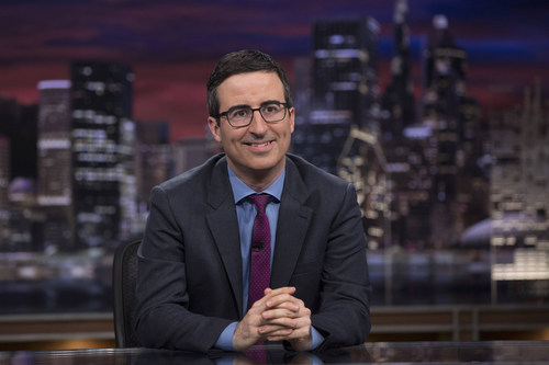 John Oliver, Emmy Award-Winning Comedian and Host of HBO's New Hit Show Last Week Tonight With John Oliver,  ...