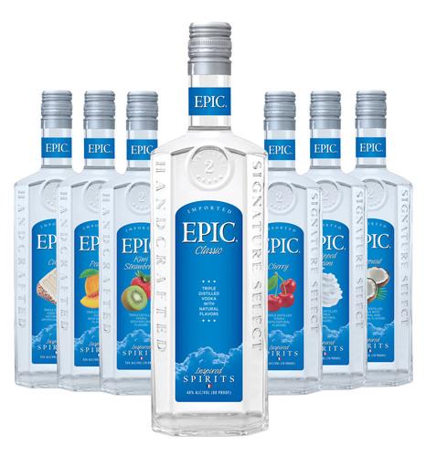 Sazerac Co. Introduces New EPIC Vodka. (PRNewsFoto/Sazerac Company) (PRNewsFoto/SAZERAC COMPANY)