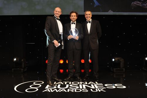 2013 ICAEW Sustainable Business winner London Bio Packaging (PRNewsFoto/National Business Awards)