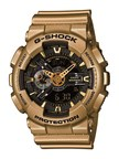 CASIO G-SHOCK RELEASES GOLD X BLACK COLOR SERIES: Gilded style and technology mix in the latest addition for Spring