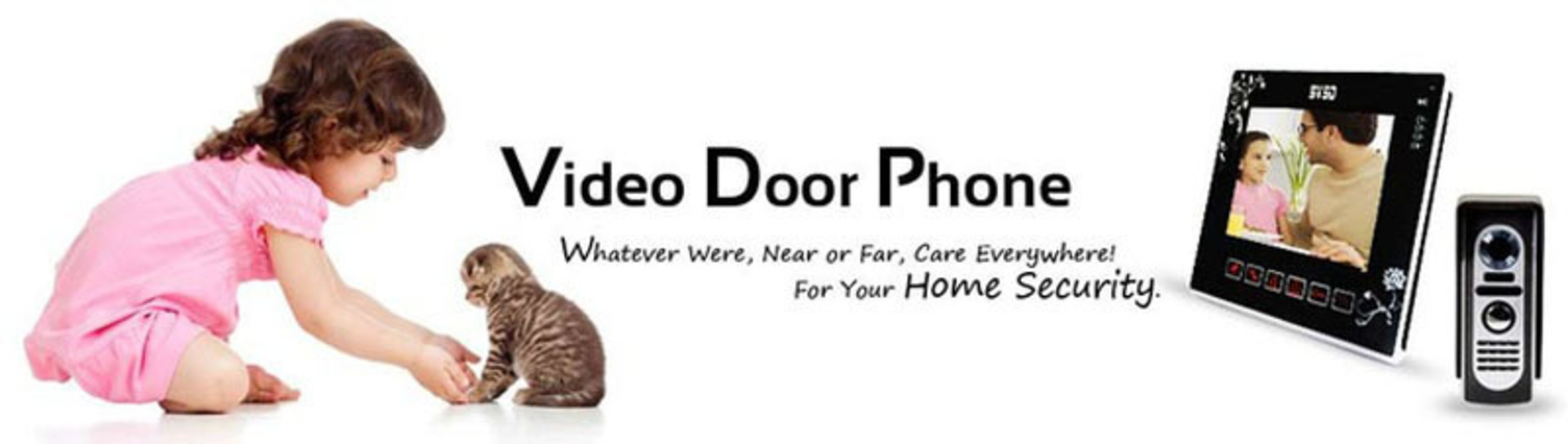 Whatever Where, Near or Far, Care Everywhere! For Your Home Security!(PRNewsFoto/ineSun)