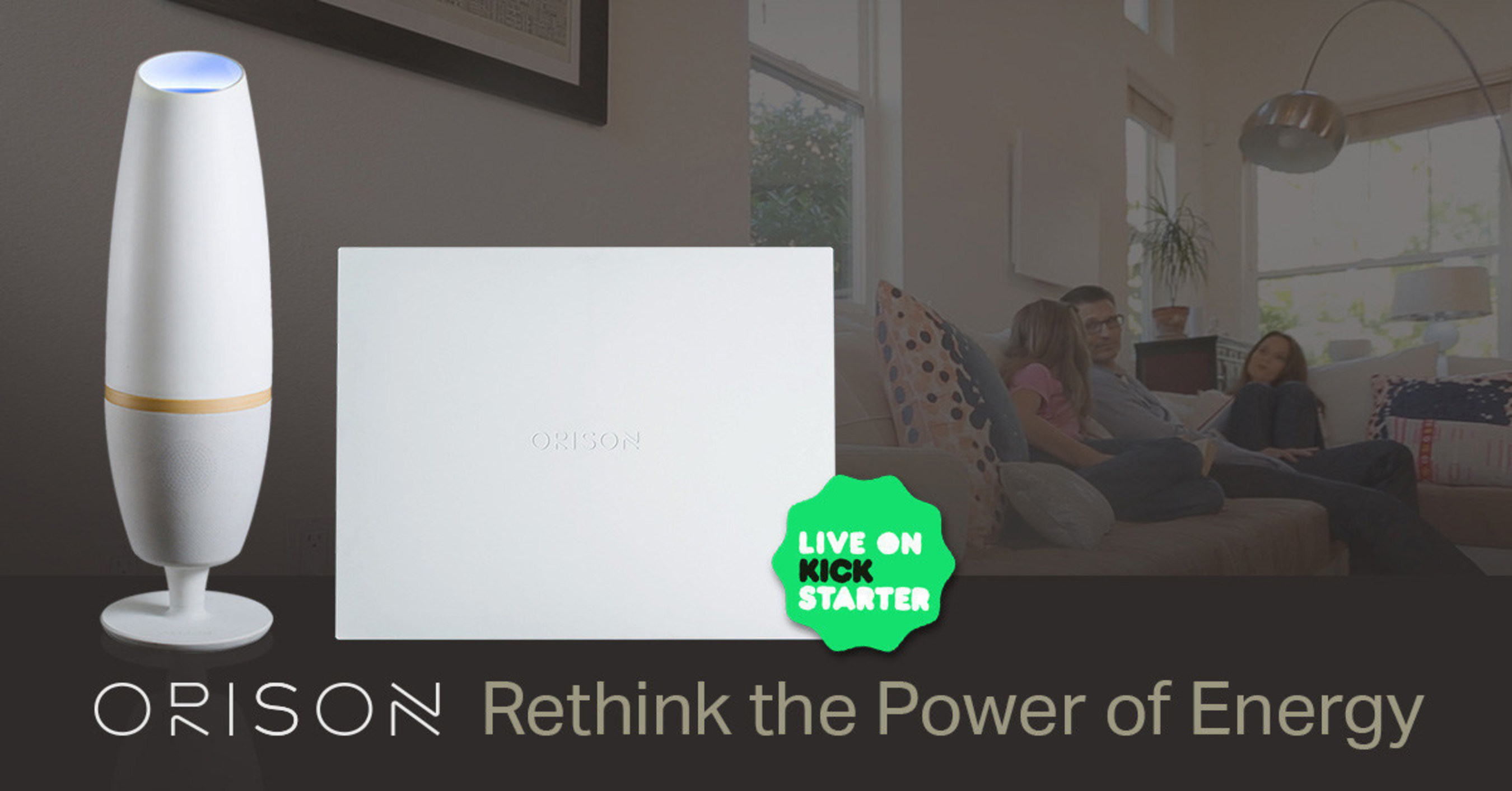 Orison plug-and-play energy storage powers homes and businesses to reduce energy costs, provide backup energy ...
