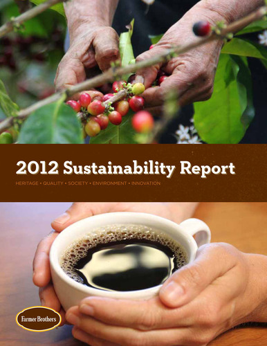 Farmer Brothers® Leading The Way In Sustainable Practices