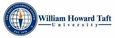 Taft University Logo. (PRNewsFoto/William Howard Taft University) (PRNewsFoto/WILLIAM HOWARD TAFT UNIVERSITY)