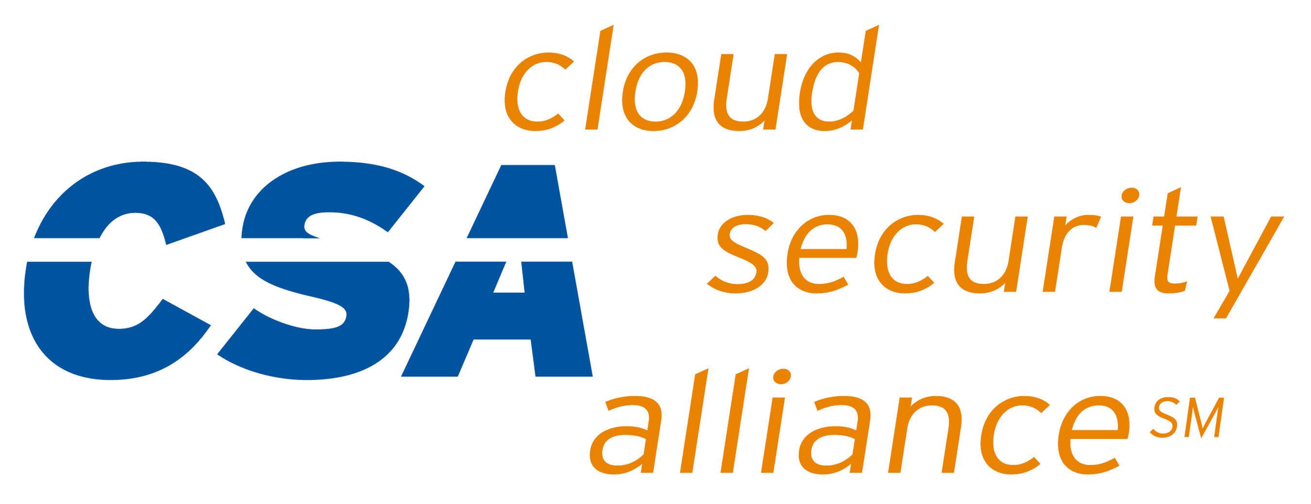 Cloud Security Alliance Logo.