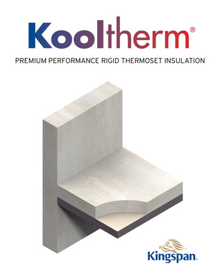 The Kingspan Kooltherm(R) line offers an extensive range of products for wall, floor, soffit and rainscreen applications. It has a fiber-free rigid thermoset phenolic insulation core that resists both moisture and water vapor ingress, and exhibits class-leading fire performance.