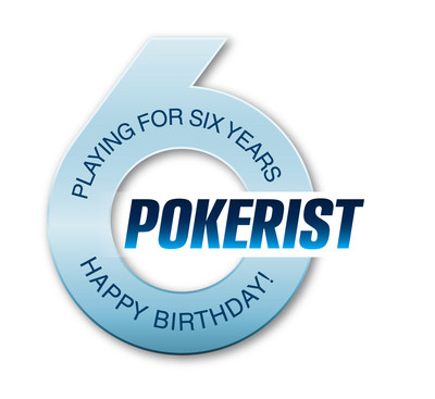 Pokerist 6th Birthday Logo (PRNewsFoto/KamaGames)