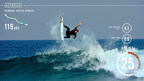 Jordy Smith Tests Trace Device in Durbin, South Africa.