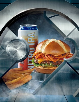 To celebrate the release of 20th Century Fox's upcoming X-Men: Apocalypse film, in theaters May 27, Red Robin Gourmet Burgers and Brews (Red Robin) is re-releasing the action-packed Berserker X burger. Available in restaurants nationwide until June 5, the delicious mutant of a burger is topped with sriracha onion straws, zesty aioli, Cheddar cheese and spicy pickles served on a special-edition X-marked brioche bun.