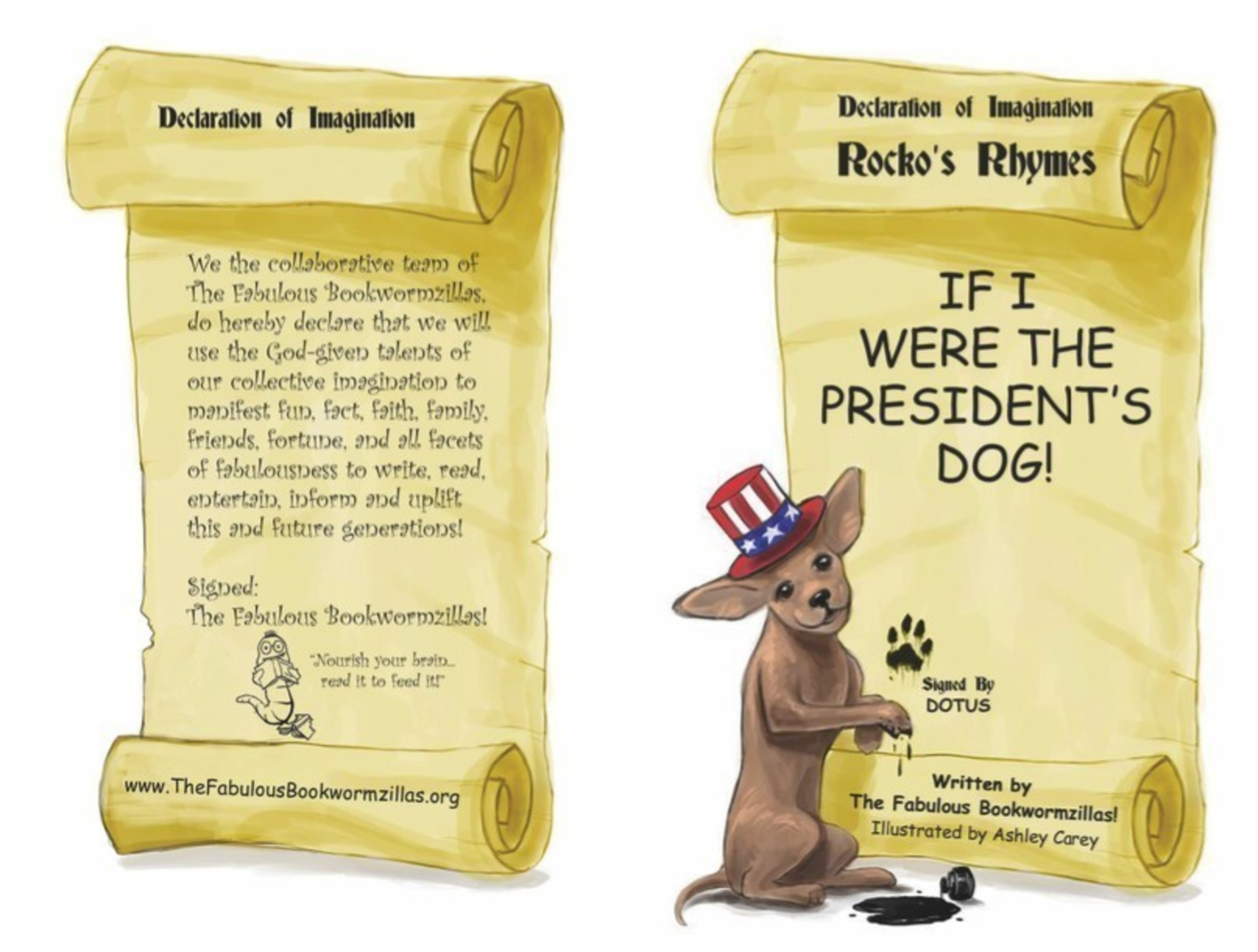 """""""If I Were The President's Dog!"""" by The Fabulous Bookwormzillas"""