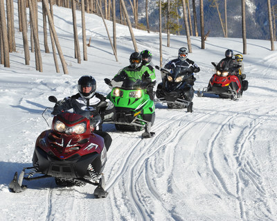 The International Snowmobile Manufacturers Association has partnered with the Outdoor Power Equipment Institute in the 'Look Before You Pump' campaign, an ethanol education and consumer protection program. The campaign reminds consumers to always use fuels containing no greater than ten percent ethanol when powering their outdoor power equipment or other non-road product, such as boats, snowmobiles and motorcycles. (PRNewsFoto/Outdoor Power Equipment Inst)