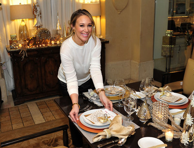 Haylie Duff partners with T.J.Maxx, Marshalls and HomeGoods to bring back the holidays by sharing her favorite family traditions and recipes.