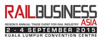 Rail Business Asia 2015, 2-4 September