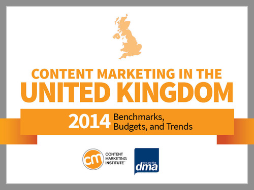 Content Marketing in the United Kingdom 2014. (PRNewsFoto/Content Marketing Institute) (PRNewsFoto/CONTENT MARKETING INSTITUTE)