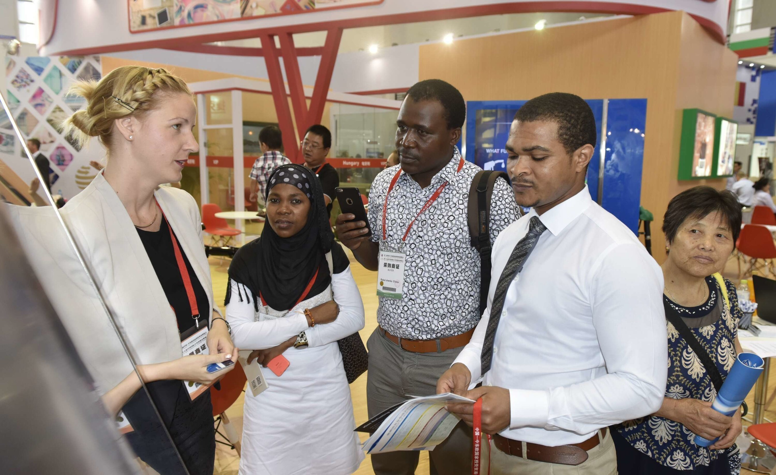 Exhibitors from CEE countries were introducing their Projects at the CCEEC Expo