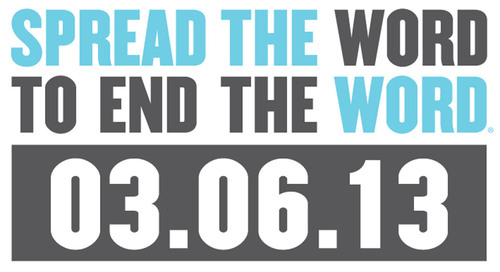 Spread the Word to End the Word. (PRNewsFoto/Best Buddies International) (PRNewsFoto/BEST BUDDIES INTERNATIONAL)