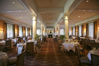 The Grand Dining Room at the Jekyll Island Club Hotel.  (PRNewsFoto/Jekyll Island Club Hotel)