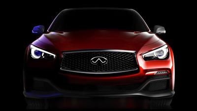 Infiniti Q50 Eau Rouge Concept. (PRNewsFoto/Infiniti) (PRNewsFoto/INFINITI)