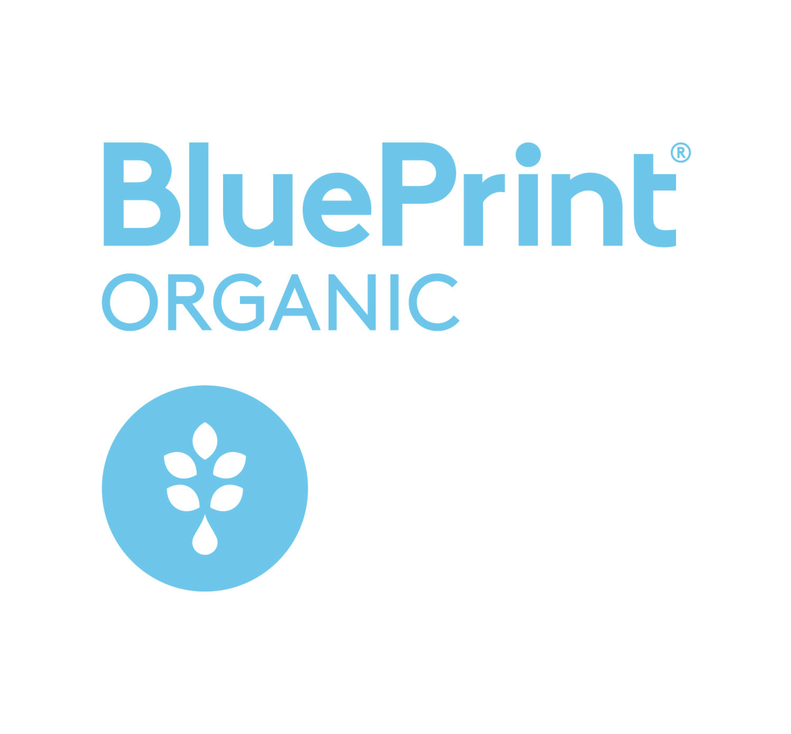 BluePrint(R) Organic Juice Drinks Logo