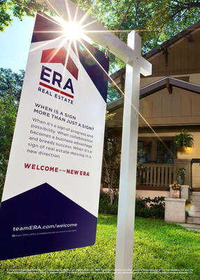 ERA Real Estate Debuts New Brand Identity (PRNewsFoto/ERA Real Estate)