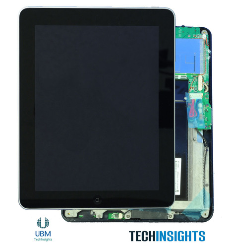 UBM TechInsights Launches Product Teardowns for Tablets