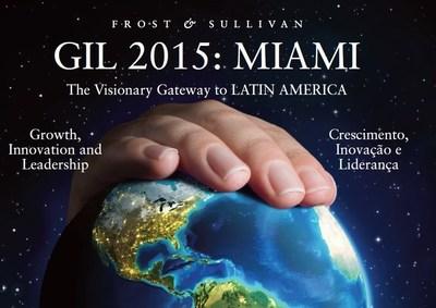 Frost & Sullivan's GIL 2015: Miami Event (PRNewsFoto/Frost & Sullivan)