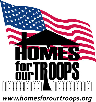 Homes for Our Troops logo.  (PRNewsFoto/Homes For Our Troops)