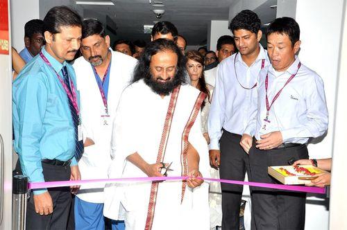 Sri Sri Ravi Shankar Inaugurating Rehab Centre of Sakra World Hospital (PRNewsFoto/Sakra World Hospital)