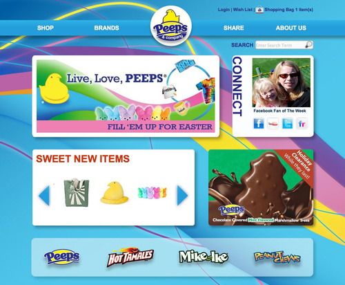 PEEPS and COMPANY® Launches Their New Online Store www.peepsandcompany.com